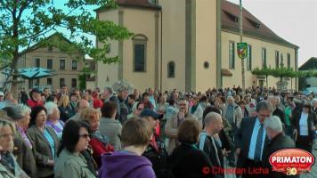 Wahlabend am Rathausplatz