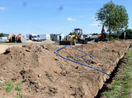"""Mit """"Zehentwörth II"""" und """"Untere Länge II"""" ist die Gemeinde Sand derzeit dabei neue Baugebiete zu erschließen."""