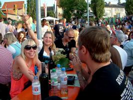 Alkoholfreie Getränke waren bei den sommerlichen Temperaturen der Renner
