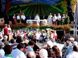 Altmain-Weinfestplatz Festgottesdienst