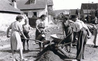 Fronarbeit in Prappach