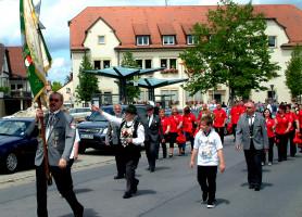 Die Schützengesellschaft Zeil ist der Patenverein des Sander Schützenvereins