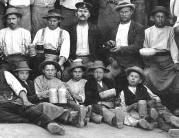 Mit 12 oder 13 Jahren in die Steinindustrie zu arbeiten, war im 19. Jahrhundert nicht ungewöhnlich – und vermutlich auch nicht das Biertrinken.