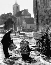 Korbhändler in Prappach