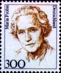 Maria Probst Briefmarke