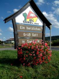 Ein Herzliches Grüß Gott in Sand a. Main zur Kirchweih 2012.